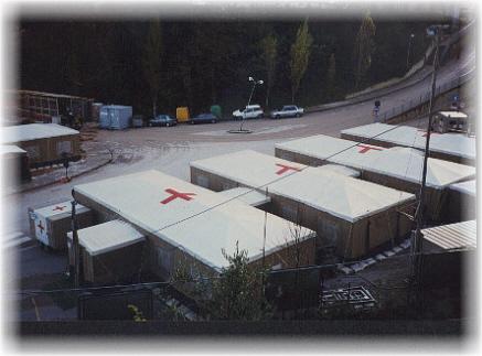 Ospedale da campo degli Alpini