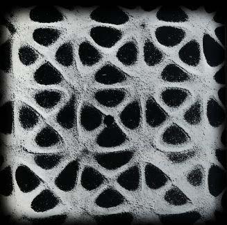 Effetto delle vibrazioni sonore sulla sabbia Fonte: dalla rete
