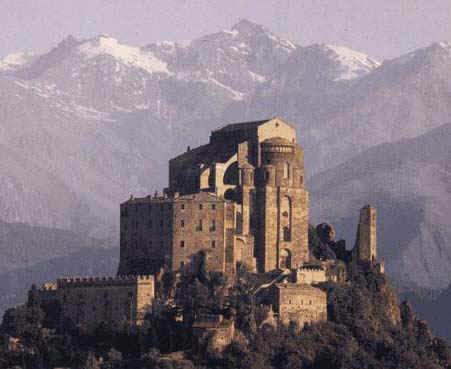 Sacra di San Michele, Torino Fonte: dalla rete